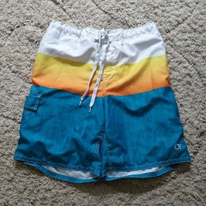 5 for $10, OP board shorts,  size large 36-38